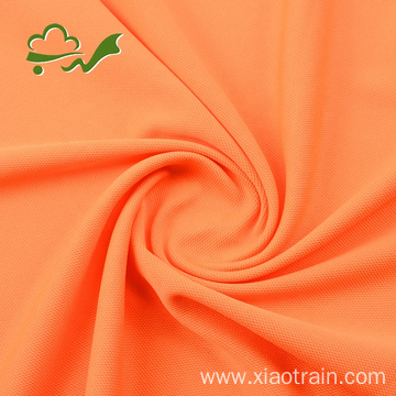 75D36F Polyester Interlock Pique Fabric for Tops
