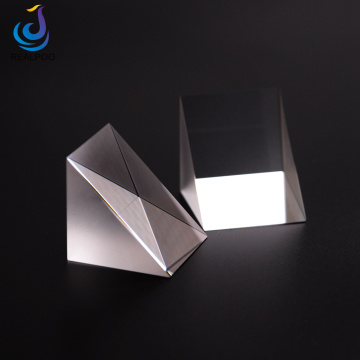UV yakasanganisa Silica Right Angle Prism