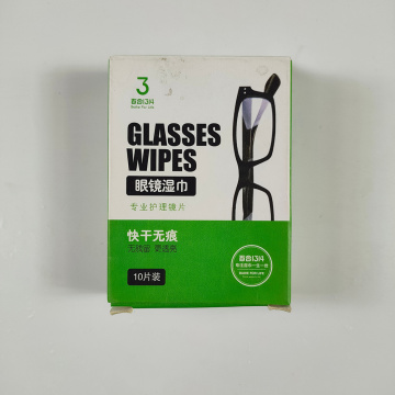Disposable Eyeglass Wipes for Fog Cleaning