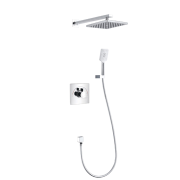 One Key Dual Control Concealed Shower Mixer