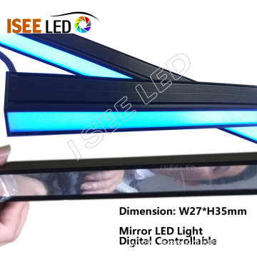 Mirror Digital LED Bar Light in Night Club