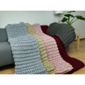 Fashion Chunck Handmade Blanket