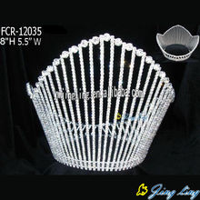 Full Round Pageant Crowns FCR-12035