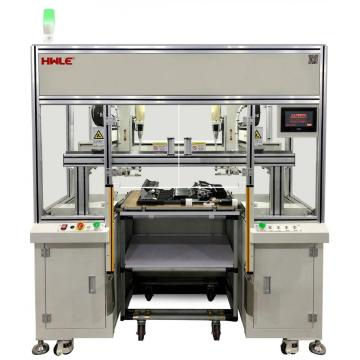 Precision locking screw machine with Six-axis
