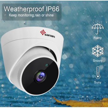 1080P Network CCTV Dome Camera Night Vision