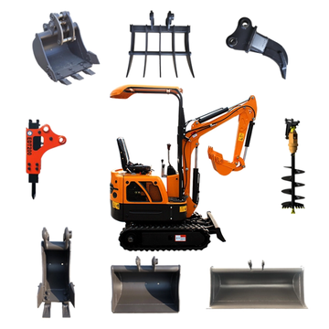 Landscaping tools mini excavators for sale