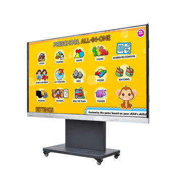 turn on a smart board interactive whiteboard