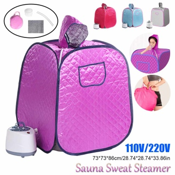 Portable Sauna Bag Steam Shower Generator Infrared SPA Loss Weight Calories Burned Sauna Tent Room Shower Cabin Bathhouse HWC