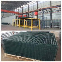 Factory sales green wire mesh fence