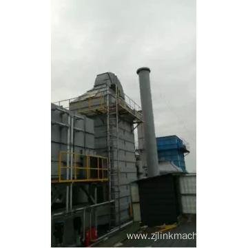 Stenter Fume Exhaust Gas Treatment Machine