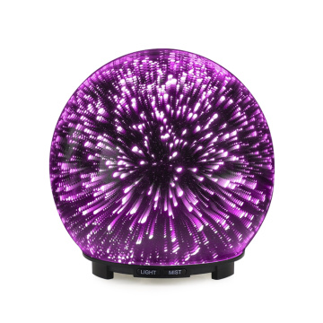 Fireworks 3D Glass Electric Fragrance Oil Diffuser Lamp