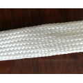 Oil Proof Pure White Cotton Braided Sleeve