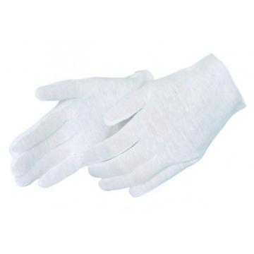 White Cotton Funeral Gloves
