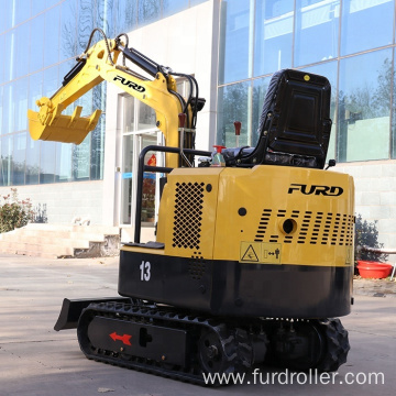 Cheap price china mini digger 1 ton crawler mini crawler excavator FWJ-900-13