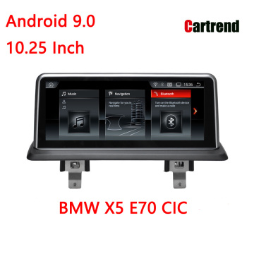 X5 E70 үшін Car Radio Bluetooth Wifi