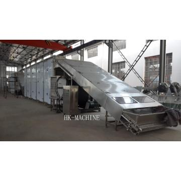 Five layer belt type drying machine