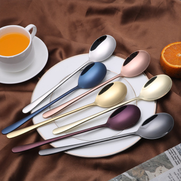 304 stainless steel gold flatware dinner spoons
