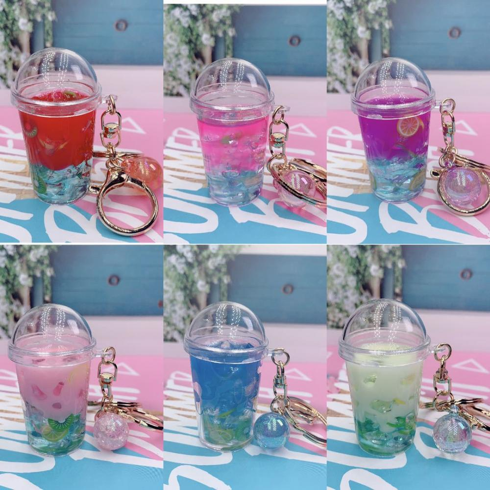 Milk Tea Keychain