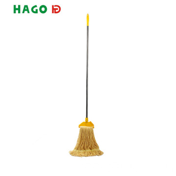 Floor Cotton Dust Mop With Custom Aluminum Handle