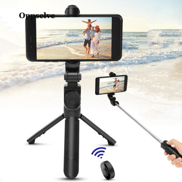 Wireless Bluetooth Selfie Stick Monopod Foldable Tripod Remote Cell Phone Holder For iOS Android Camera Self-Timer Artifact Rod