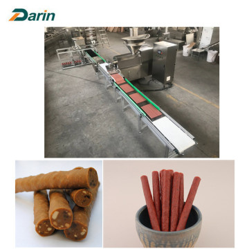 Dog Meat Stick Machine With Auto Tray System