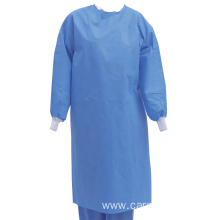 Disposable Sterile SMS 45GSM Surgical Gown