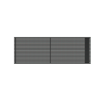 High Cold Applicable LED Grille Screen