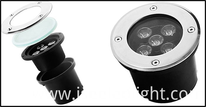 LED Underground light Structure