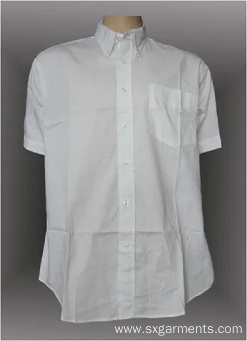 97%cotton 3% spandex ean's shirt short sleeve