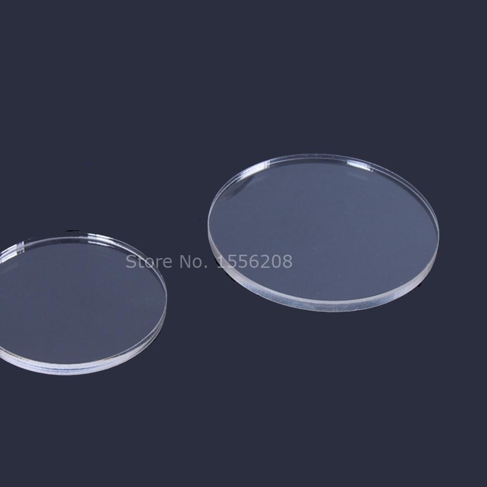 Acrylic laser cut round blank disc craft plexiglass disk blank panel 15pcs/lot