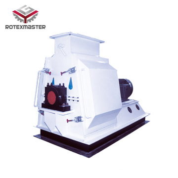 High Capacity Hammer Mill Wood Crusher Machine