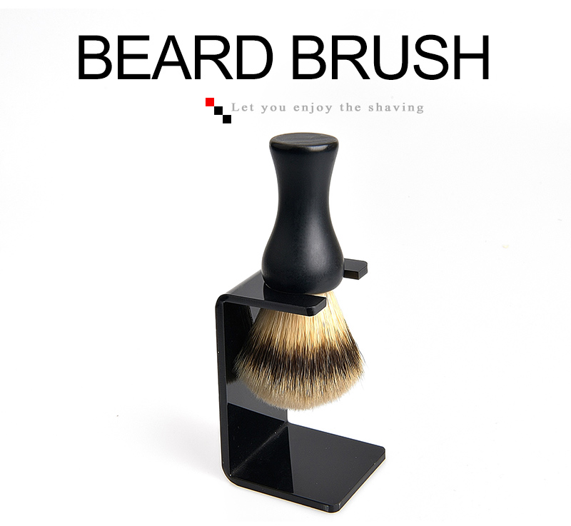 Synthetic Beard Brush 01
