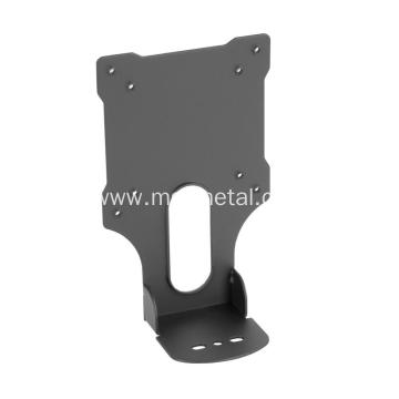 Black Powder Coated Steel Adapter Bracket Mount