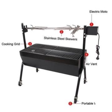 Grill Roaster Hiking Bbq Grill