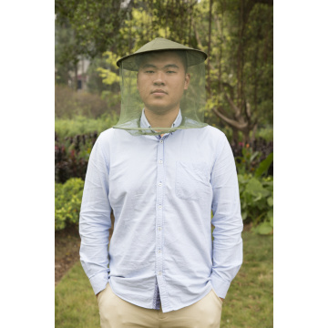 Anti-mosquito hat insect head net mask