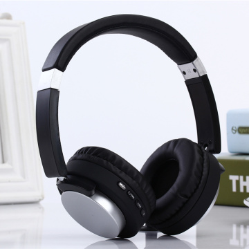 FM Penerima Metal Headband Headband Bluetooth