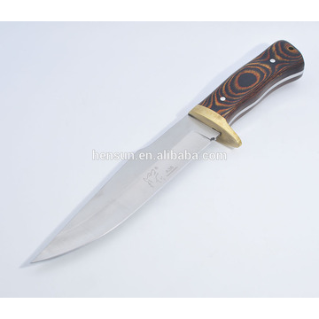 Bowie Military Fix Blade Full Tang Knife