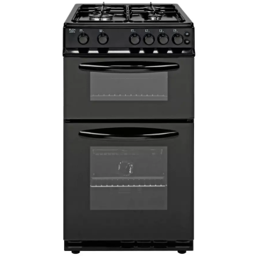 50cm Freestanding Cooker Oven Black