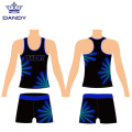 Custom college cheer workout costume