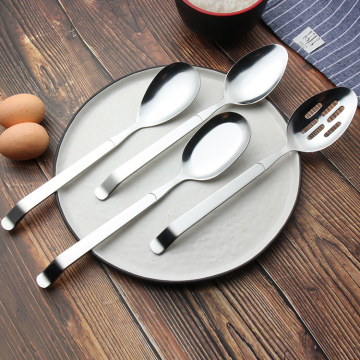 Wholesale metal stainless steel rice kitchen spoon