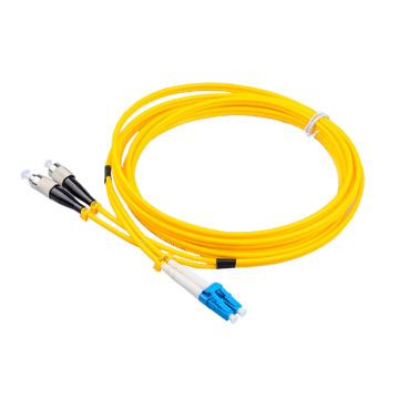 LC to FC SM Duplex  Patch Cord