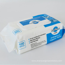 Skin-friendly Moisturizer Disinfectant Antibacterial Wipes