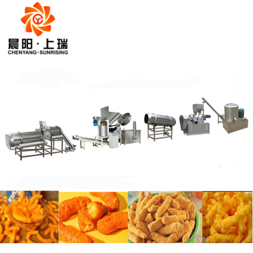 Nik naks cheetos extruder cheetos machine price