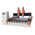 double spindle cnc stone engraver