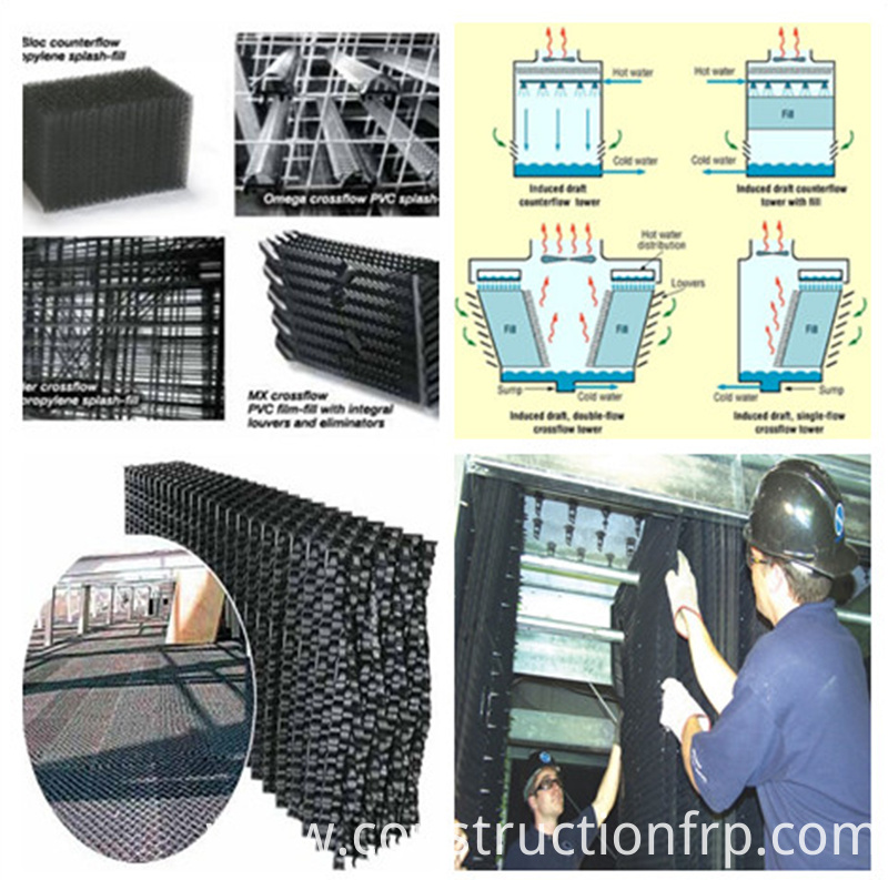 Sheets For Cooling Tower