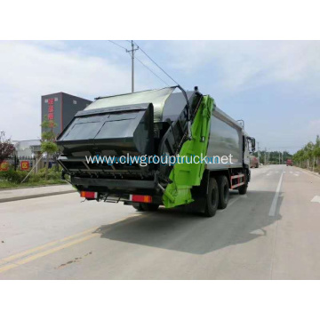 Dongfeng rear double axles compacted truck