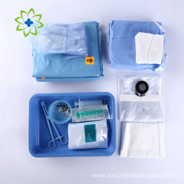 Disposable Medical Cover Implant Surgical Drape Pack