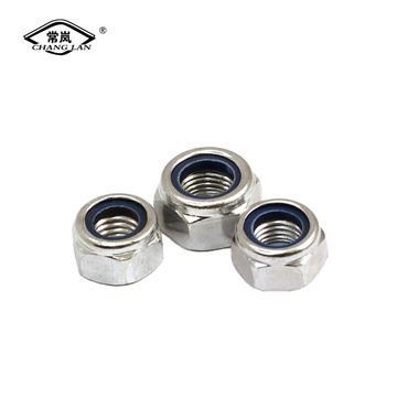 DIN982 nylon locknut self-locking locknut