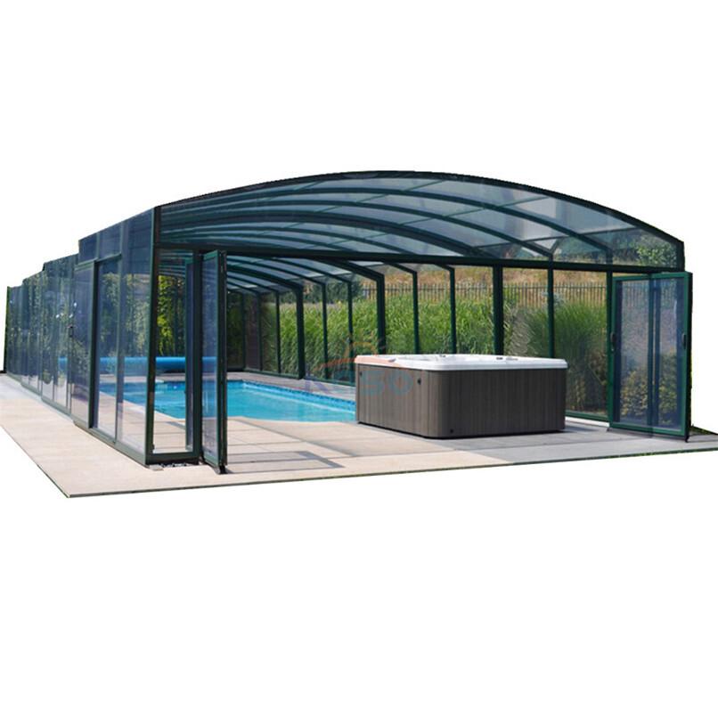 Sunroom Swimming Roof Cover Aluminum Pool Enclosure Kit ...