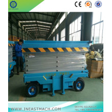 0.5t 4m Height Manual Traction Mobile Scissor Lift